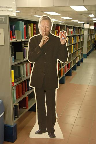 De directeur van de Undergraduate Library